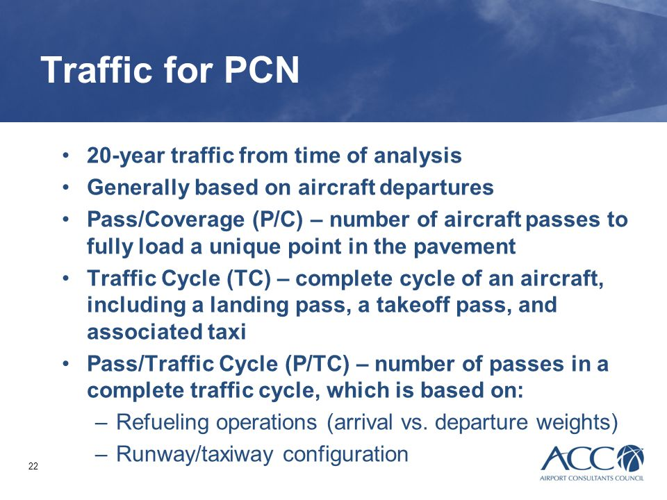 Session 11. ACN-PCN Procedure