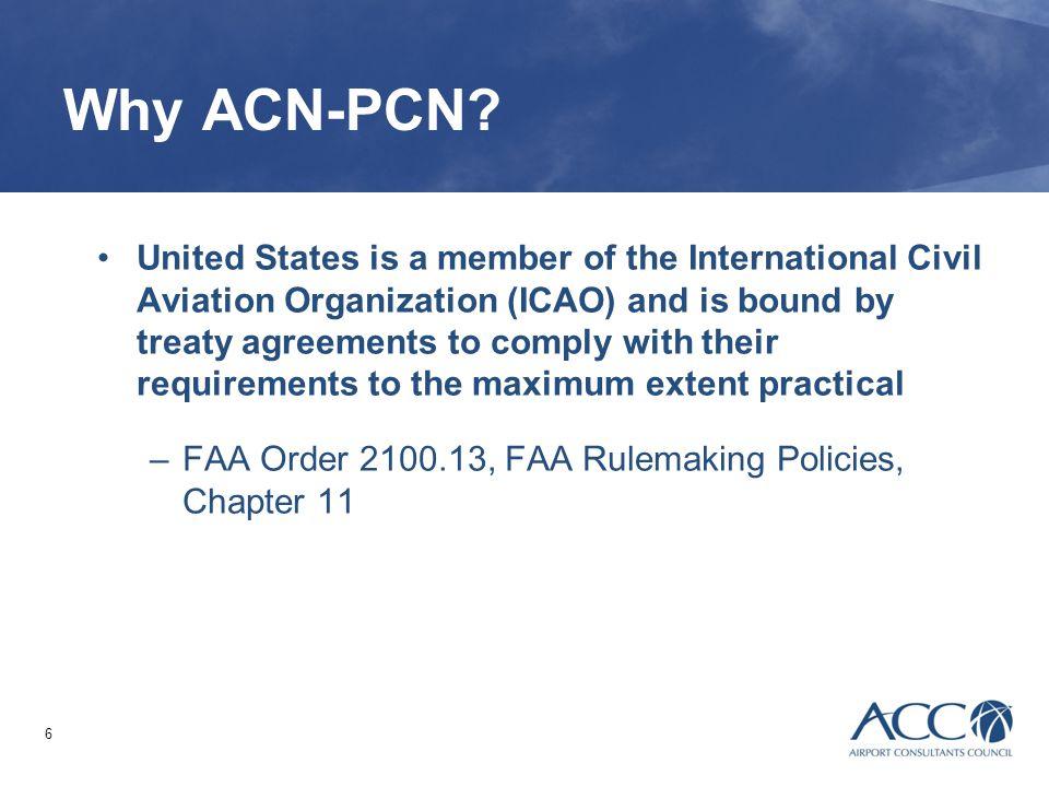 Why ACN-PCN