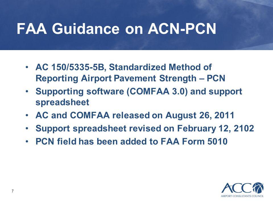 FAA Guidance on ACN-PCN