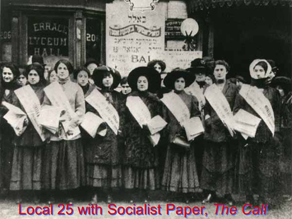 Local 25 with Socialist Paper, The Call