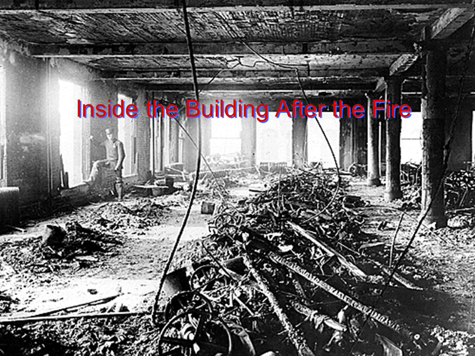 Inside the Building After the Fire