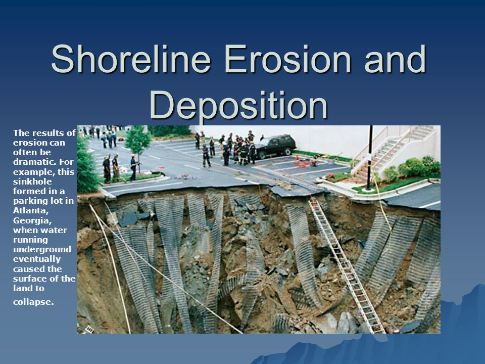 essay on shoreline erosion Processes of erosion along the coastline the purpose for this essay is to assess the processes long shore drift is responsible for the erosion of beaches.