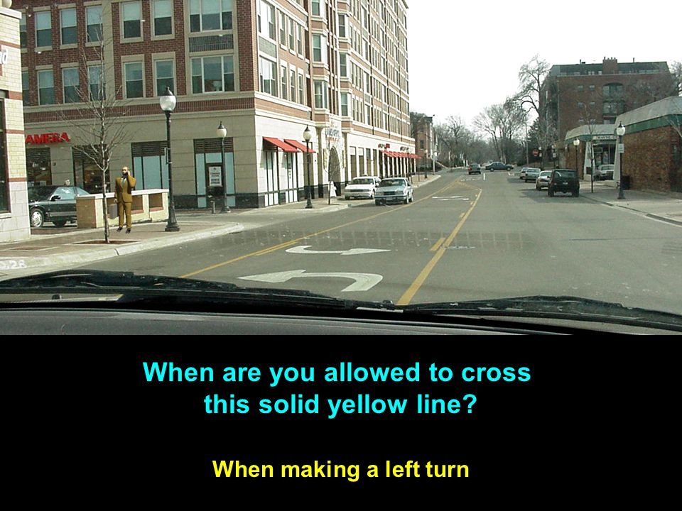When are you allowed to cross