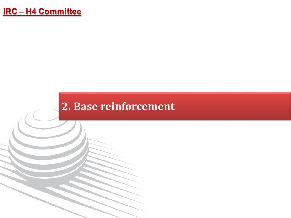 2. Base reinforcement