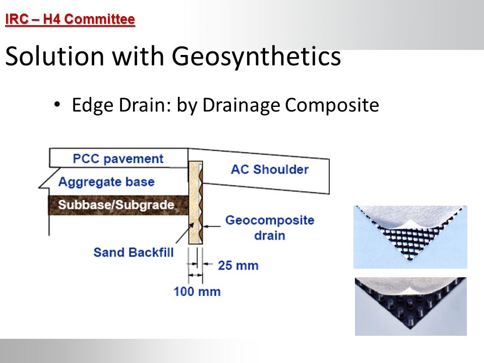 Solution with Geosynthetics