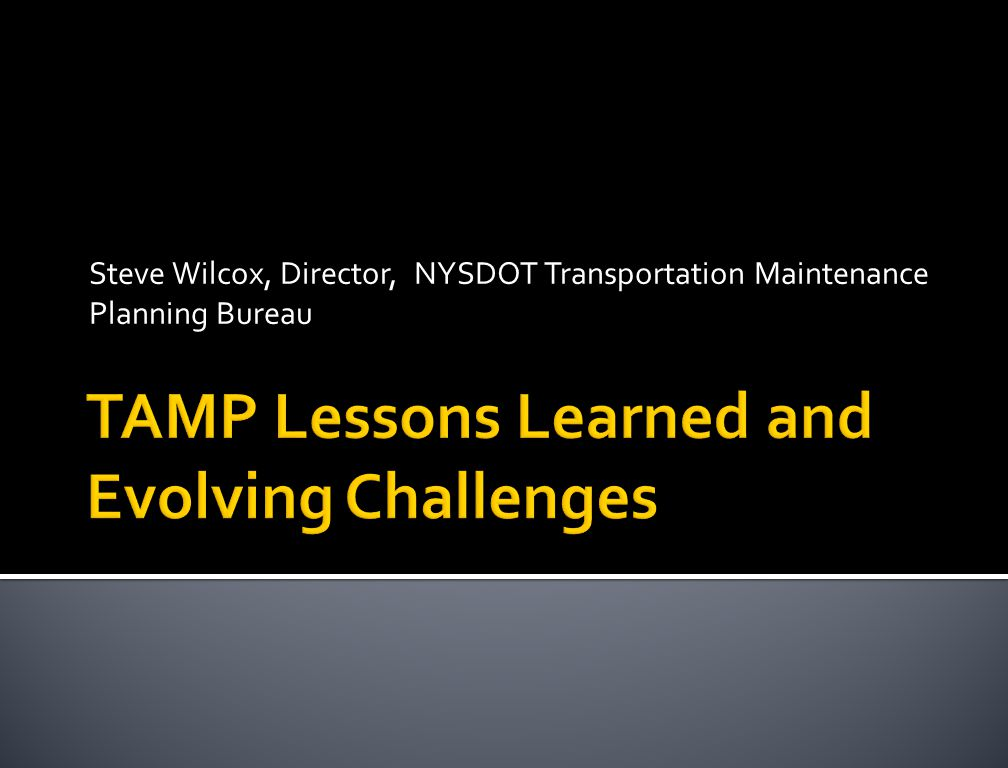 TAMP Lessons Learned and Evolving Challenges