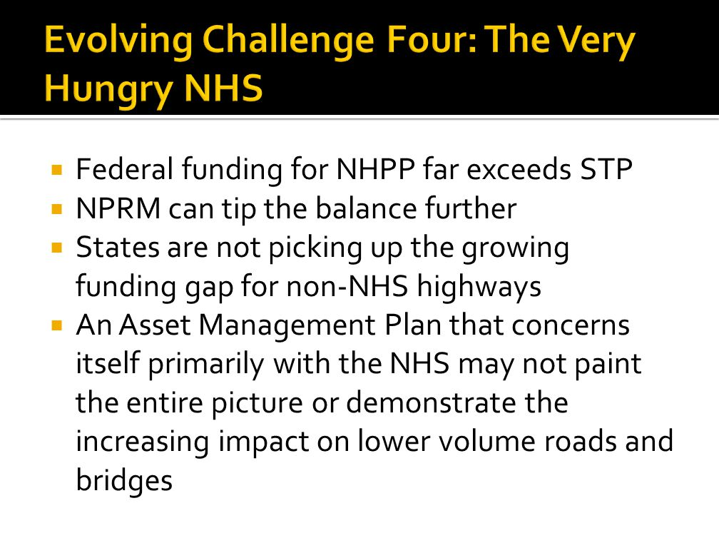 Evolving Challenge Four: The Very Hungry NHS