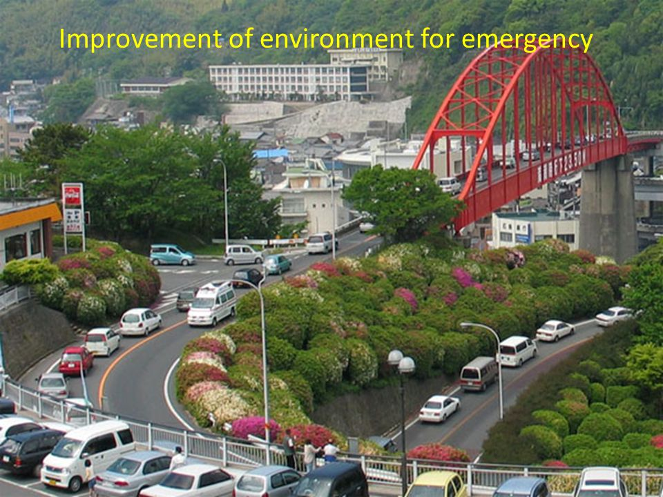 Improvement of environment for emergency