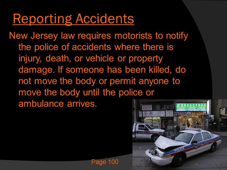 Reporting Accidents