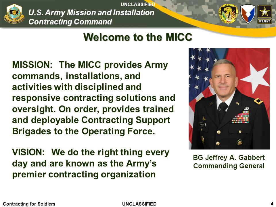 Welcome to the MICC