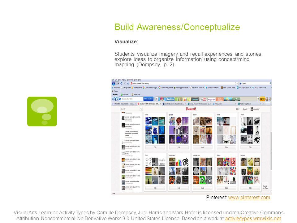 Build Awareness/Conceptualize