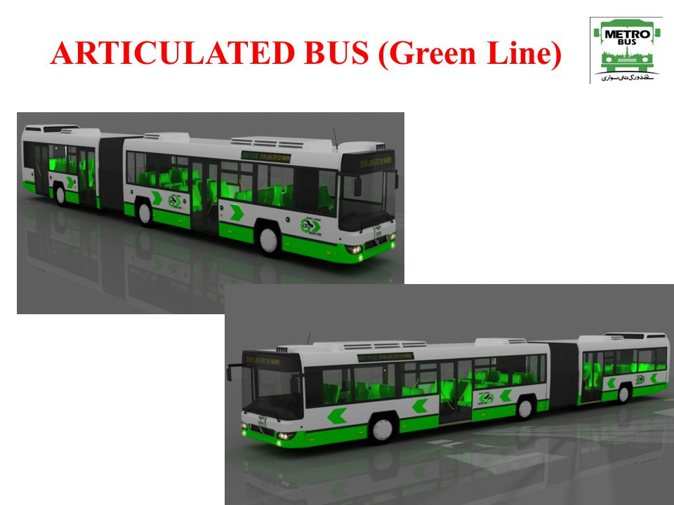 ARTICULATED BUS (Green Line)