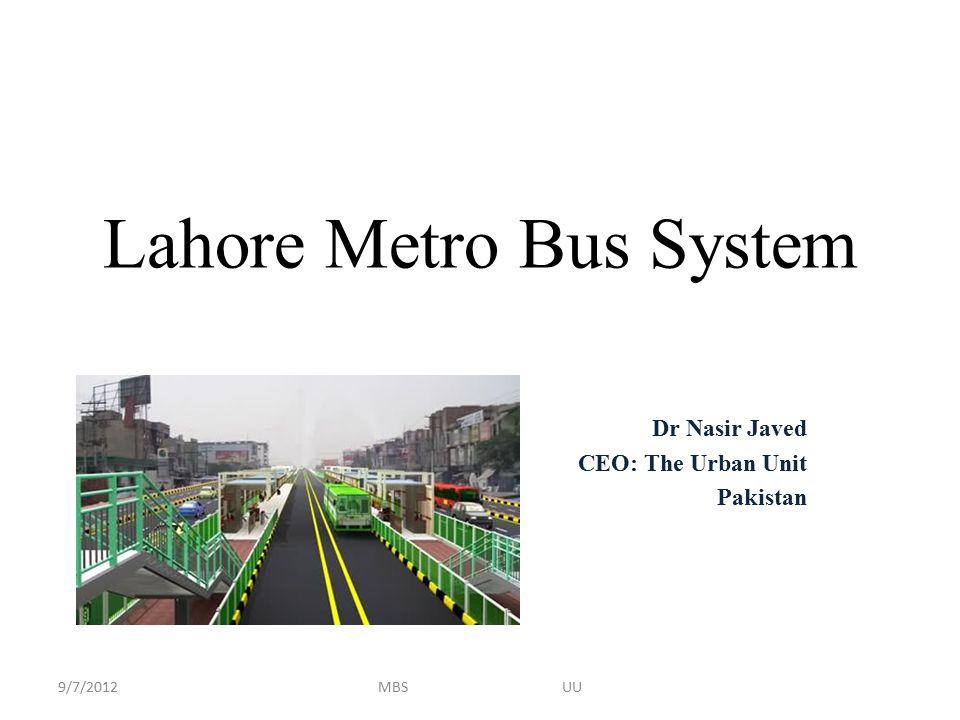 Lahore Metro Bus System