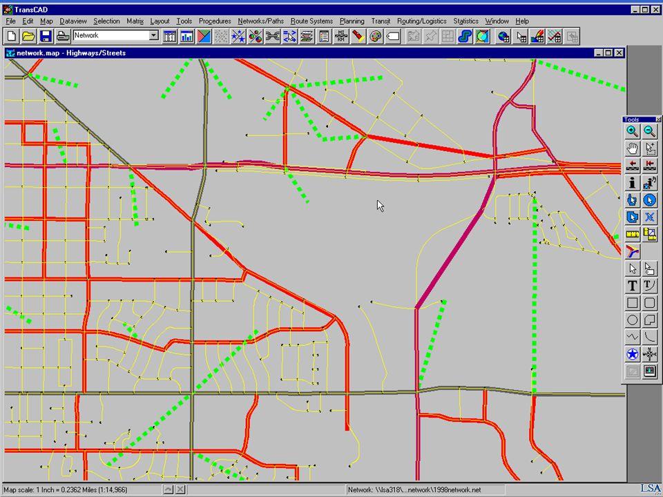 Traffic Analysis Zone Data