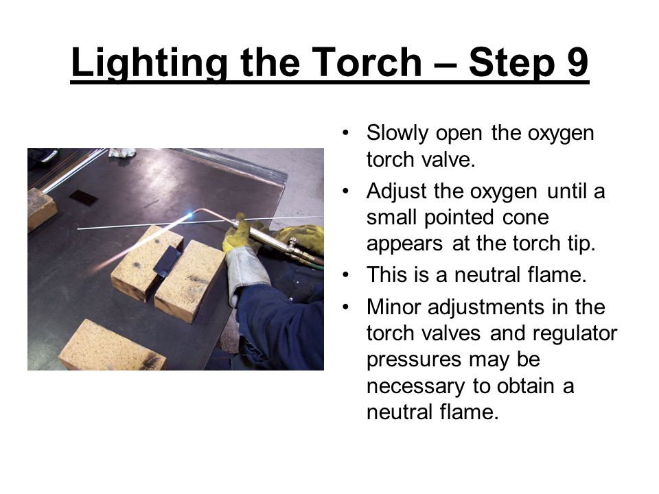 Lighting the Torch – Step 9
