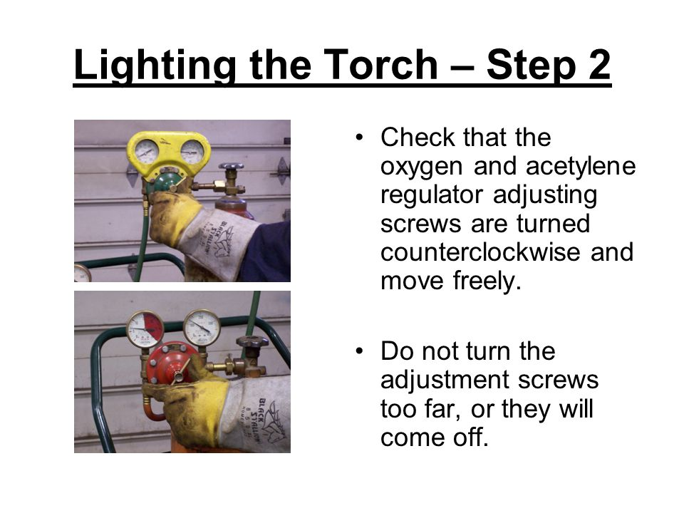 Lighting the Torch – Step 2