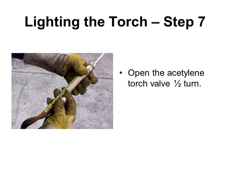 Lighting the Torch – Step 7