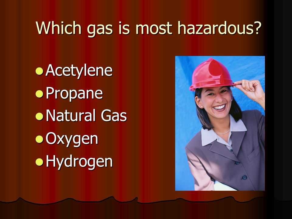 Which gas is most hazardous