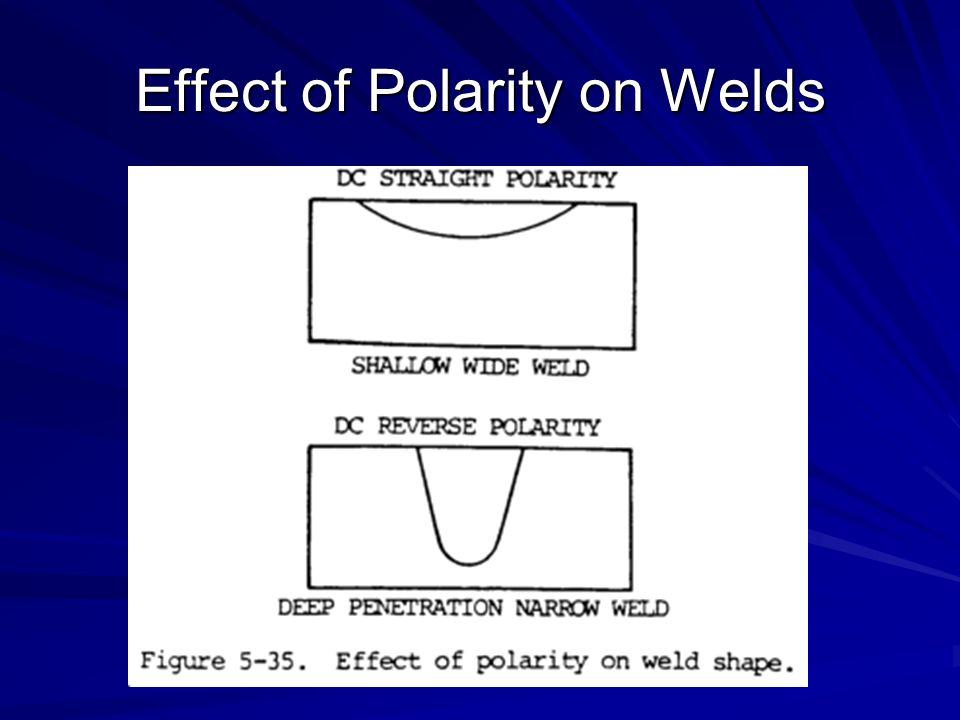 Effect of Polarity on Welds