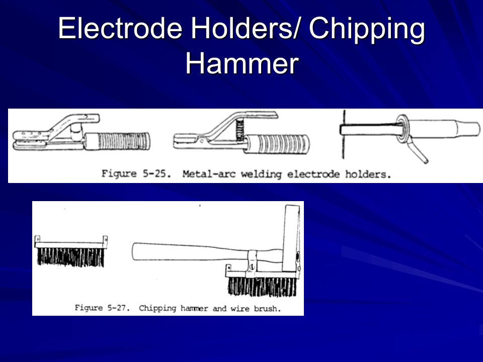 Electrode Holders/ Chipping Hammer