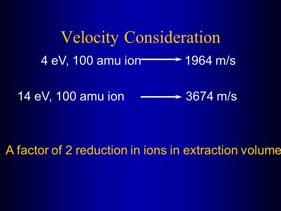 Velocity Consideration