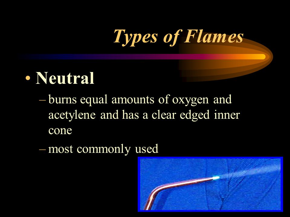 Types of Flames Neutral