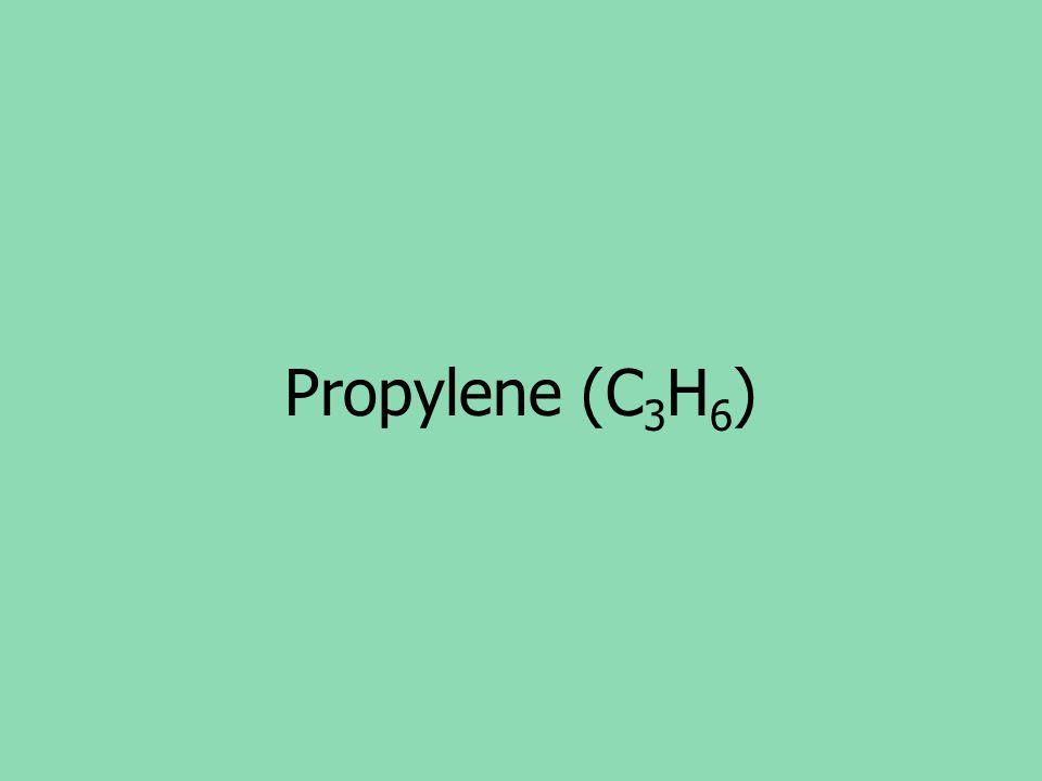 Propylene (C3H6)