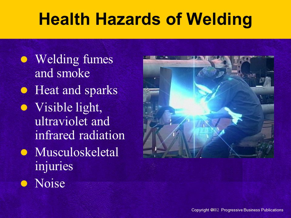 Health Hazards of Welding