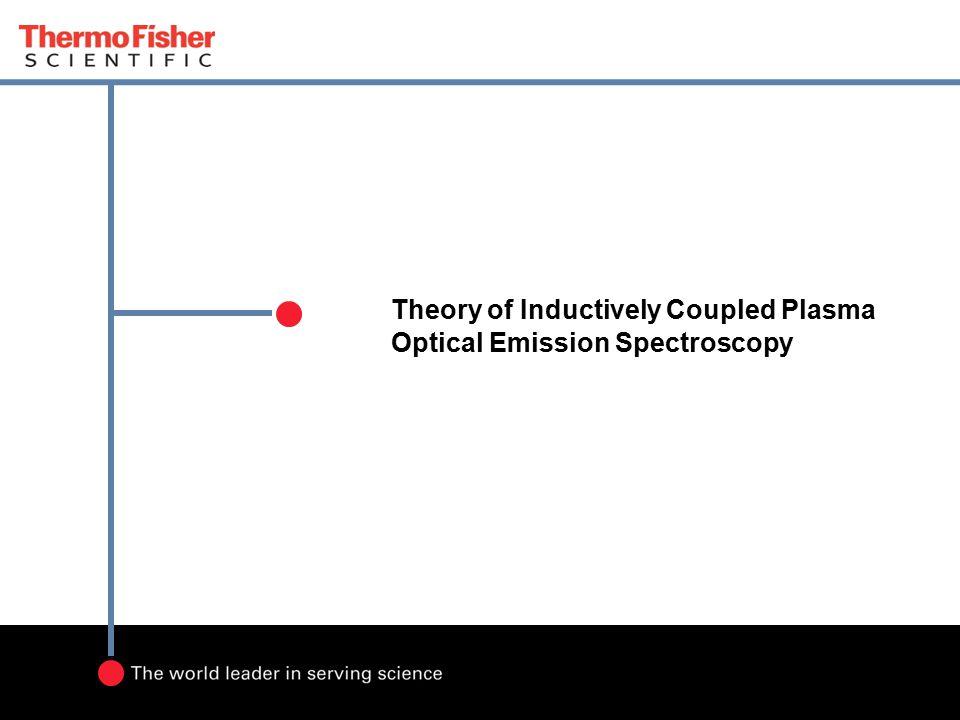 Theory of Inductively Coupled Plasma Optical Emission Spectroscopy