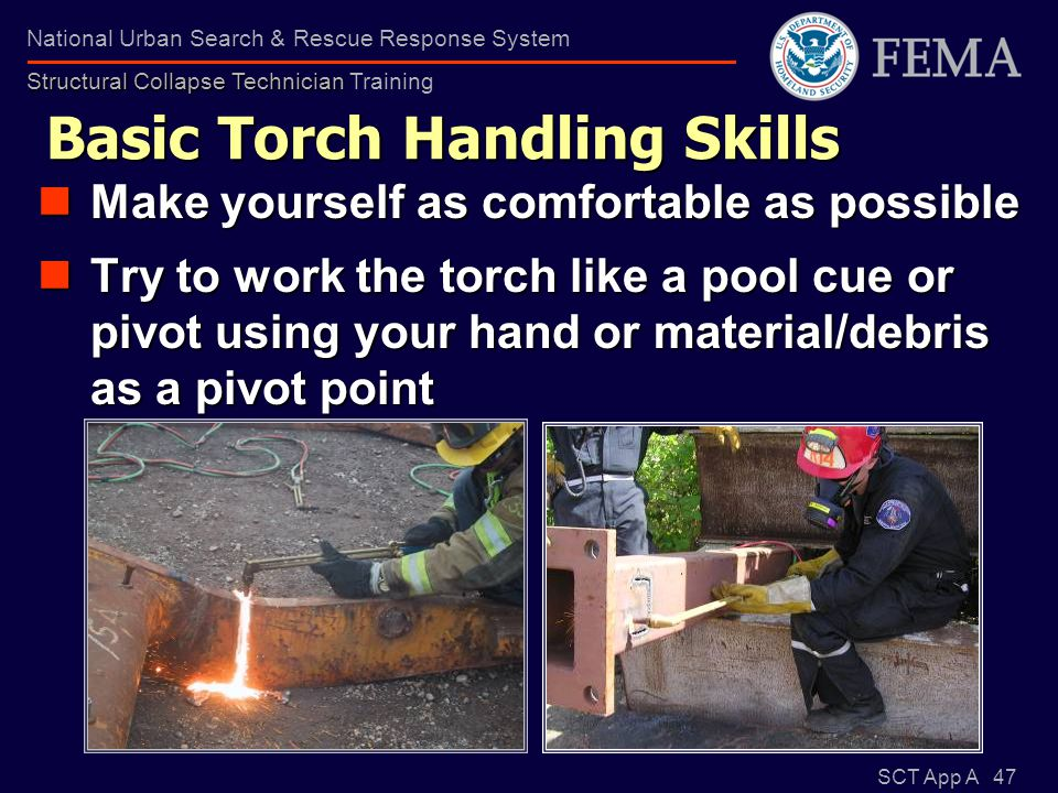 Basic Torch Handling Skills