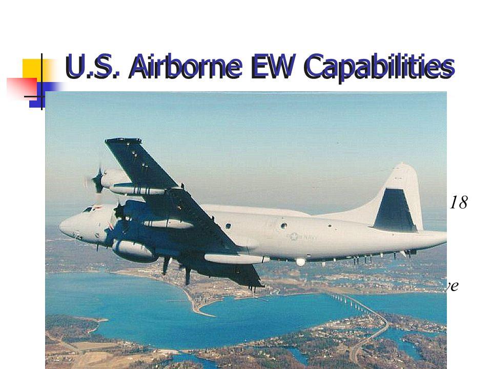 U.S. Airborne EW Capabilities
