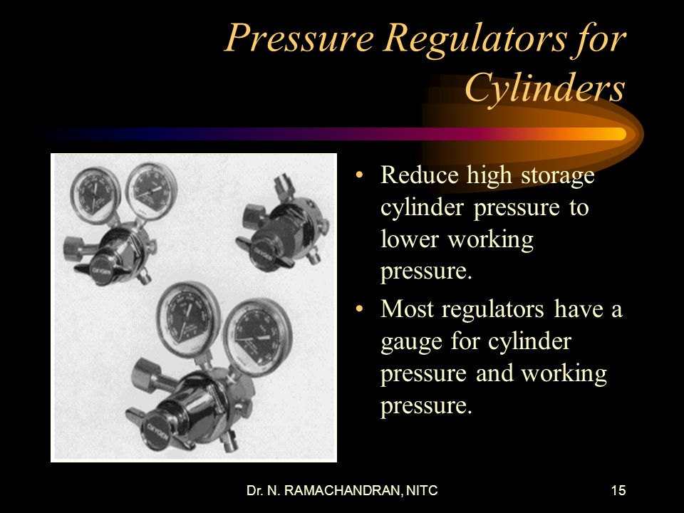 Pressure Regulators for Cylinders