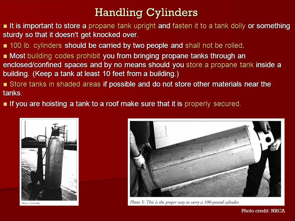 Handling Cylinders