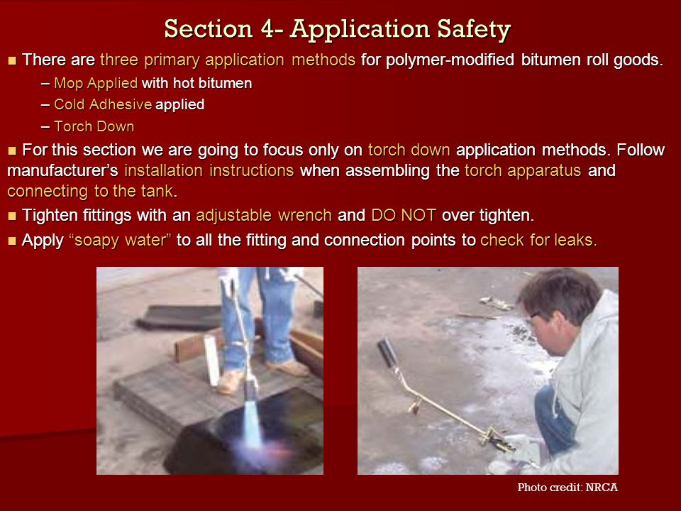 Section 4- Application Safety