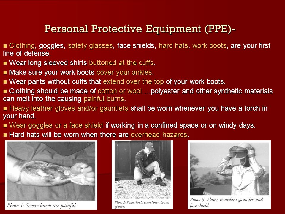 Personal Protective Equipment (PPE)-