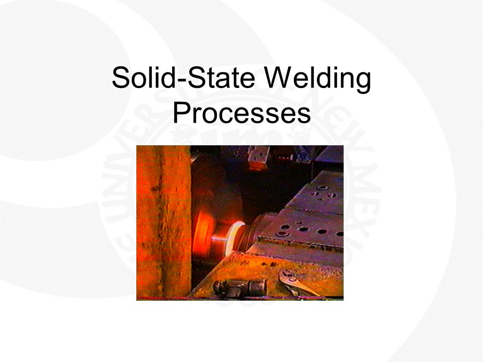 Solid-State Welding Processes