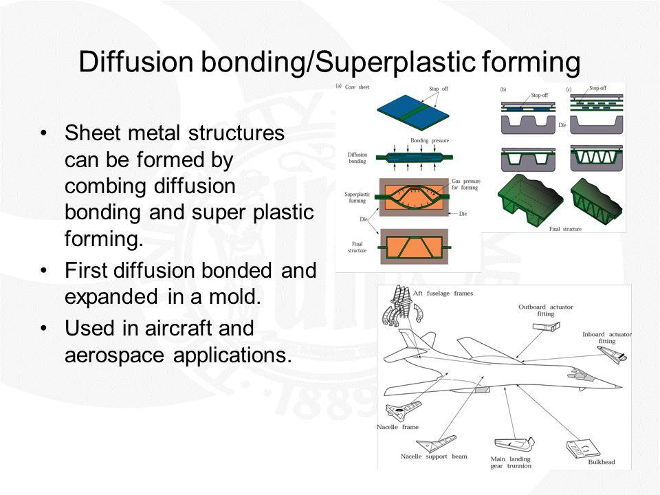 Diffusion bonding/Superplastic forming