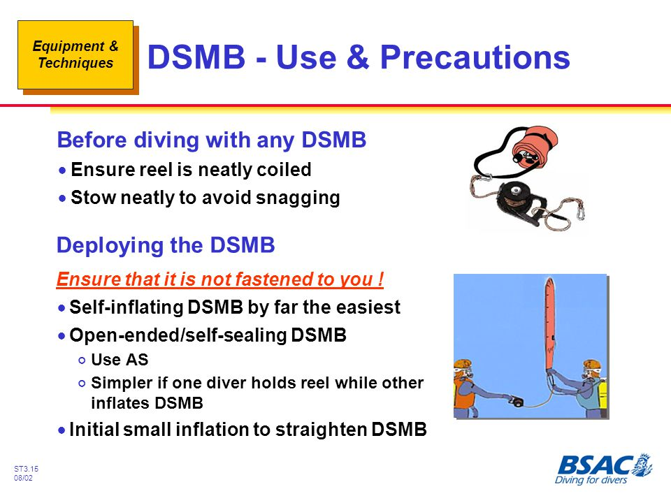 DSMB - Use & Precautions