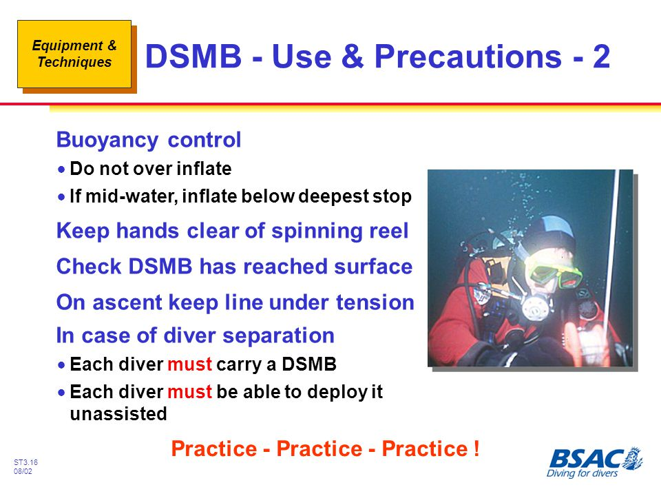 DSMB - Use & Precautions - 2
