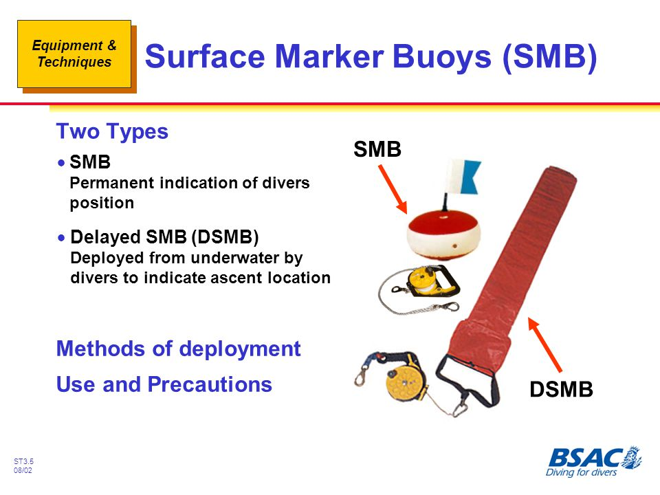 Surface Marker Buoys (SMB)