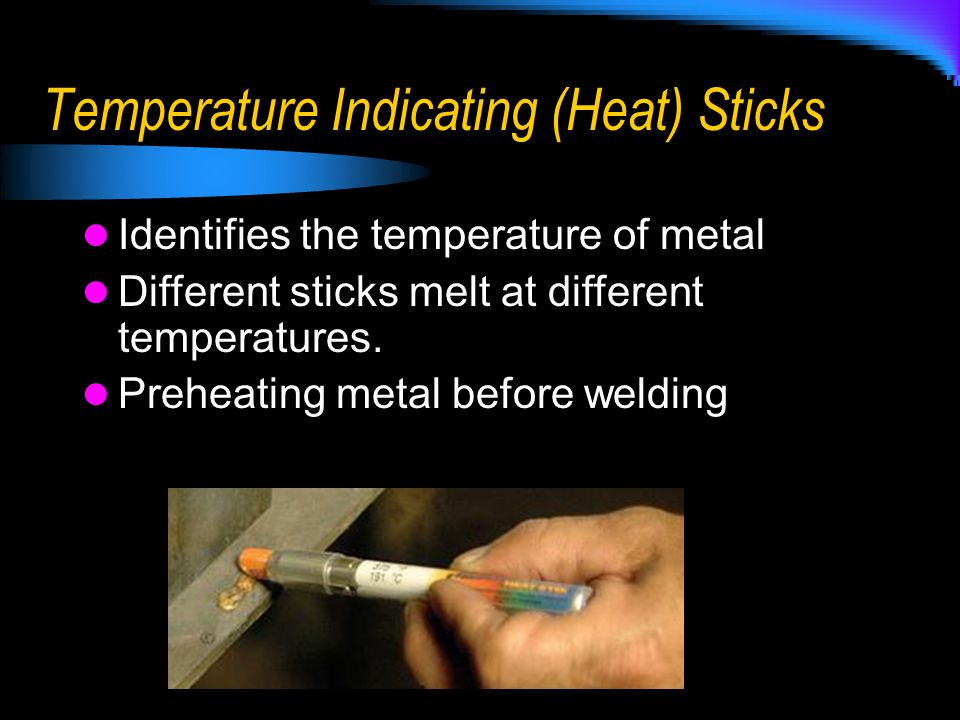Temperature Indicating (Heat) Sticks