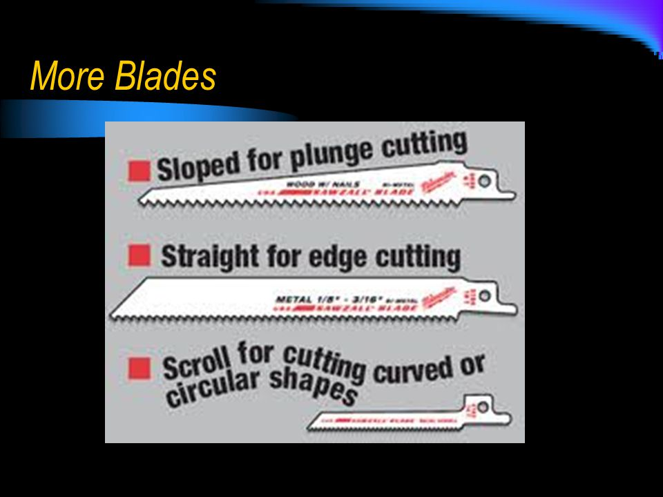 More Blades