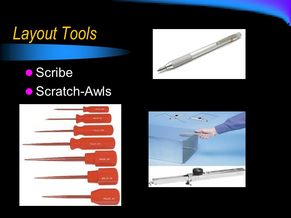Layout Tools Scribe Scratch-Awls