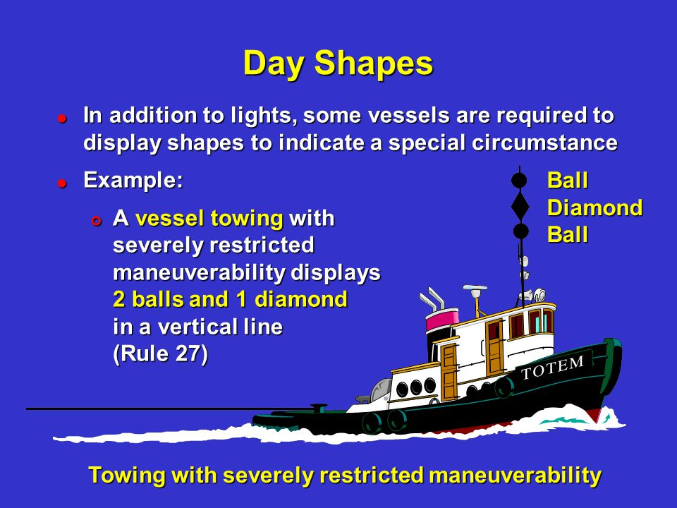Navigation Rules Inland Lights Amp Shapes Ppt Video
