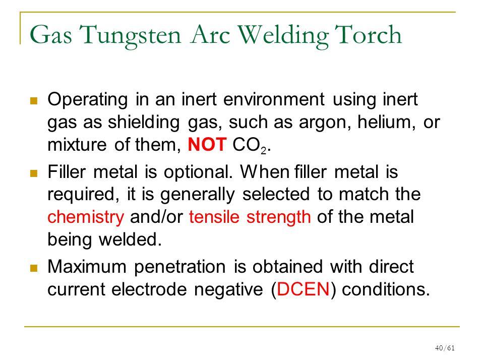Gas Tungsten Arc Welding Torch