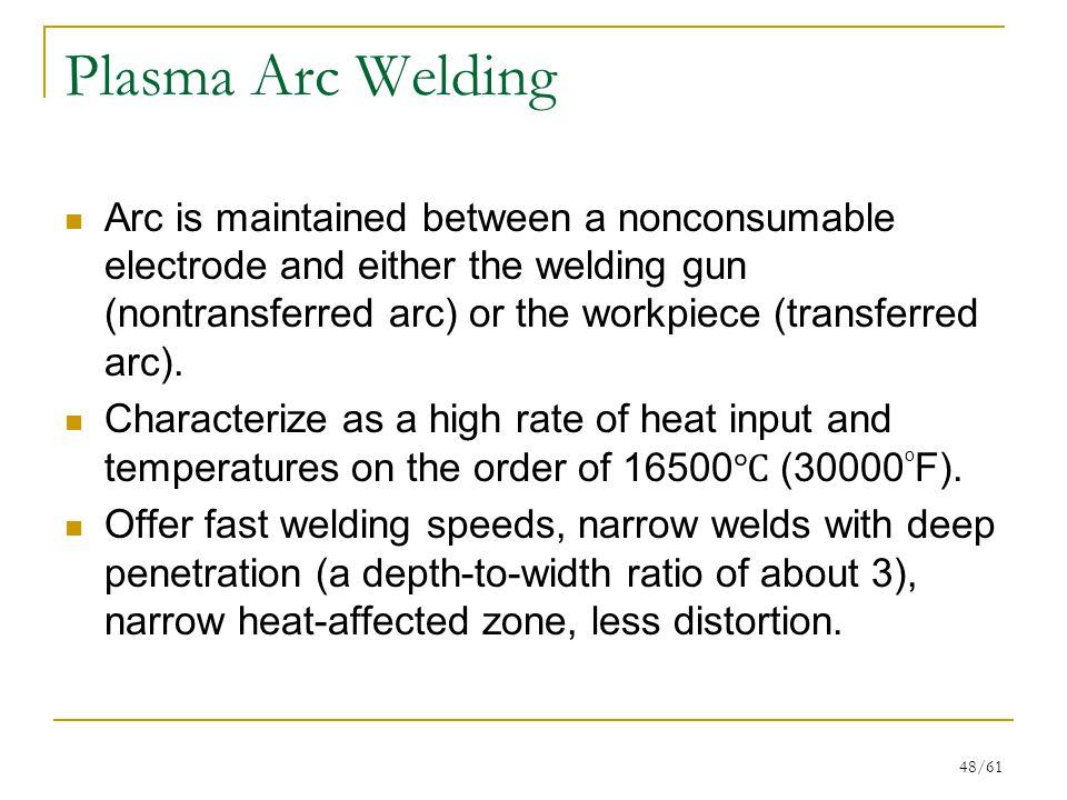 Plasma Arc Welding