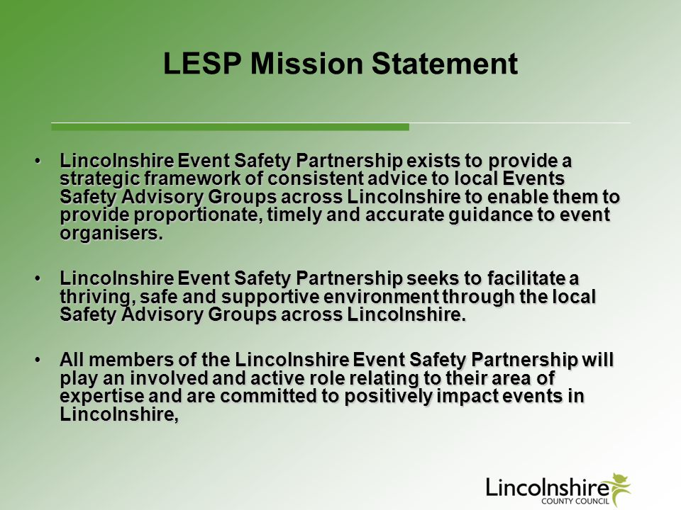 LESP Mission Statement