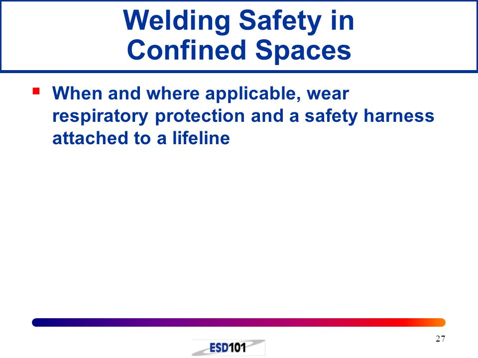 Welding Safety in Confined Spaces