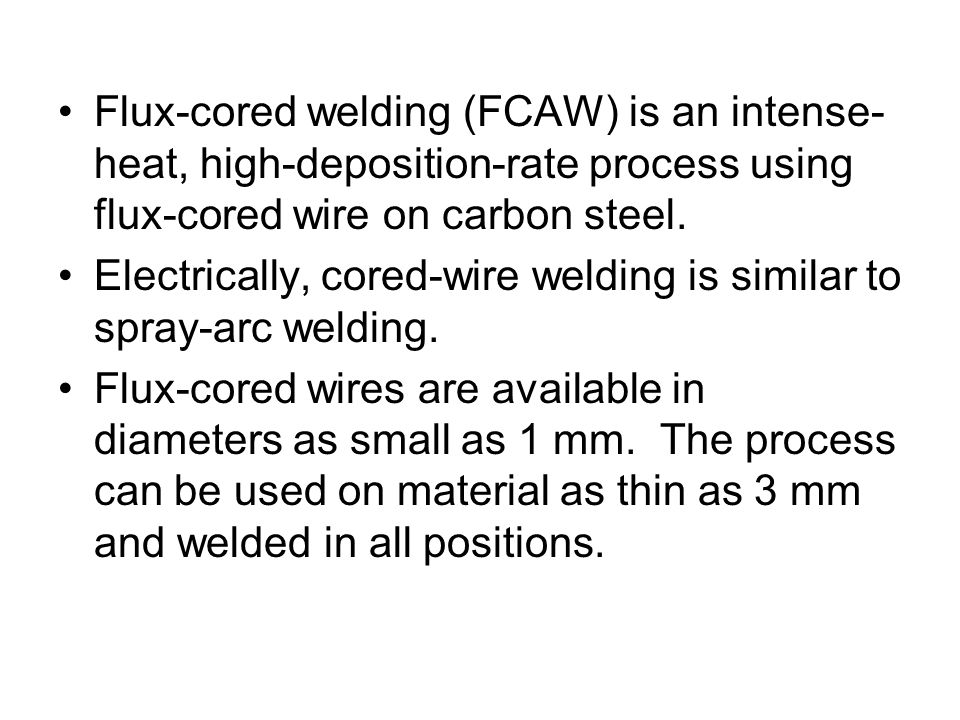 Chapter 5: Welding Process - ppt video online download