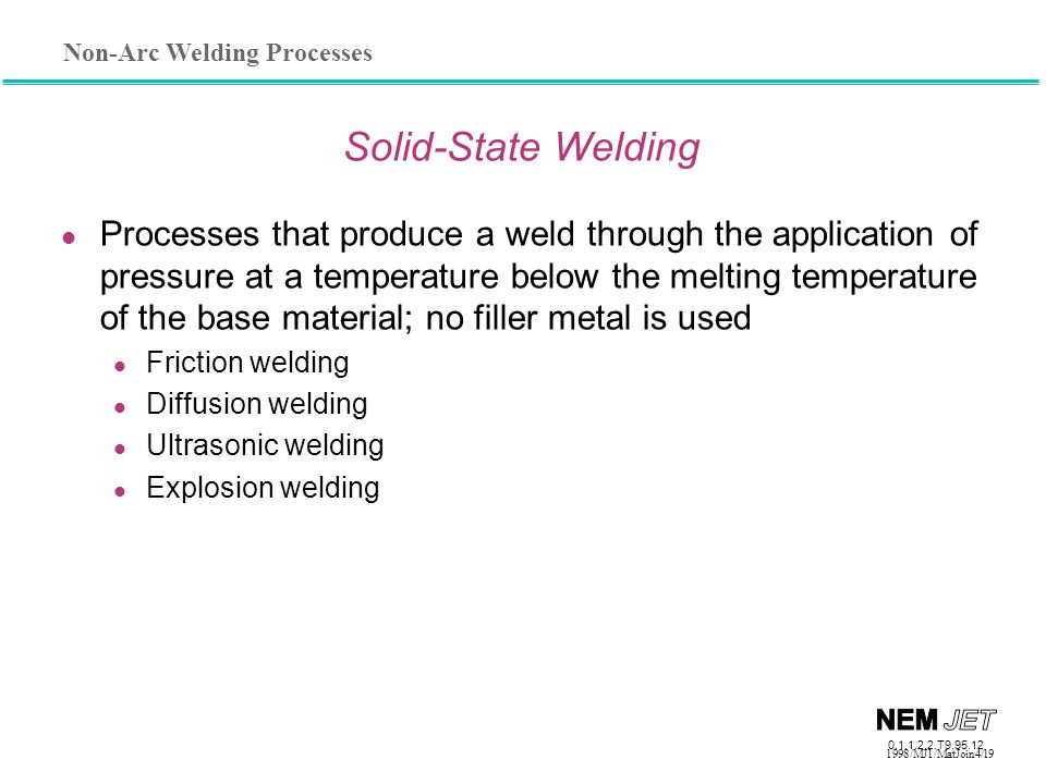 Solid-State Welding